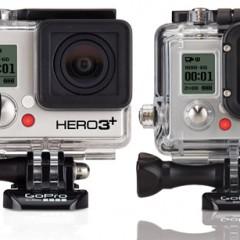 Tableau comparatif des caméras GoPro Hero3 et Hero3+