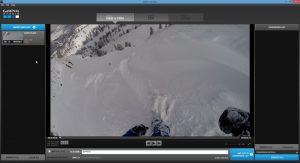 GoPro Studio ouvre votre vidéo