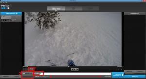Prévisualisation de la vidéo, paramètres de conversion, dossier d'enregistrement.
