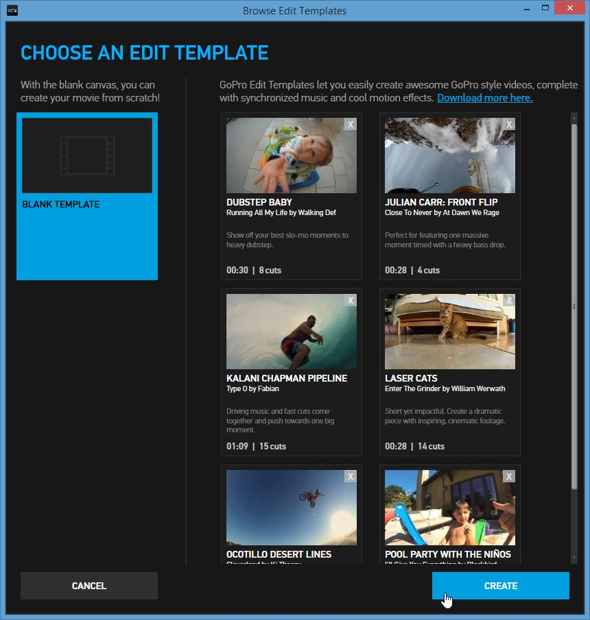 Gopro Studio Templates Download Rabotadomte