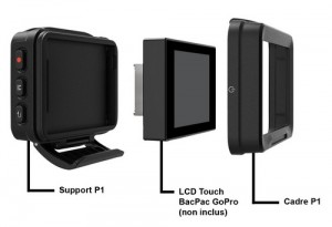 Removu R1 LCD BacPac GoPro
