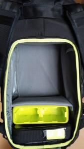 Incase Pro Pack GoPro intérieur