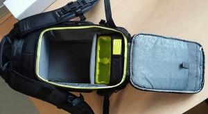 Incase Pro Pack GoPro ouverture dorsale