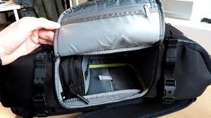 Incase Pro Pack GoPro ouverture gauche