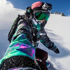 Comparatif fixation harnais et bandeau pour GoPro