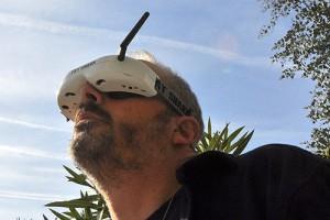 Test des lunettes Fatshark Dominator HD par Fred d'HelicoMicro.