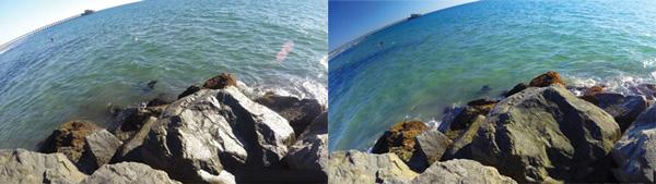 Filtres pour GoPro Polarisant