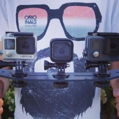 Tests des caméras GoPro Hero4 Session et Hero+ LCD