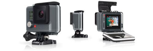 Présentation de la GoPro Hero+ LCD équipée du Bluetooth et du WiFi