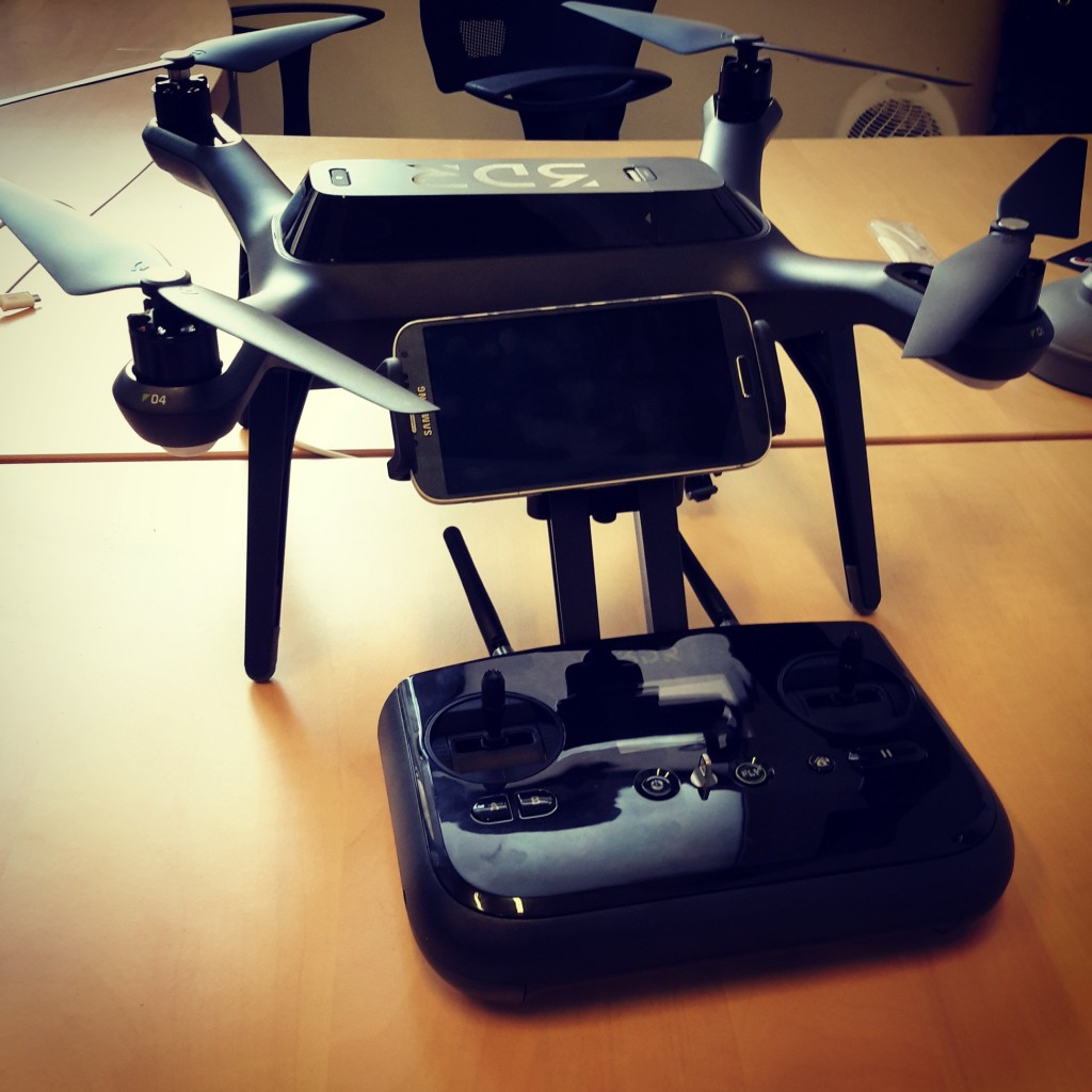 drone 3dr solo et radiocommande