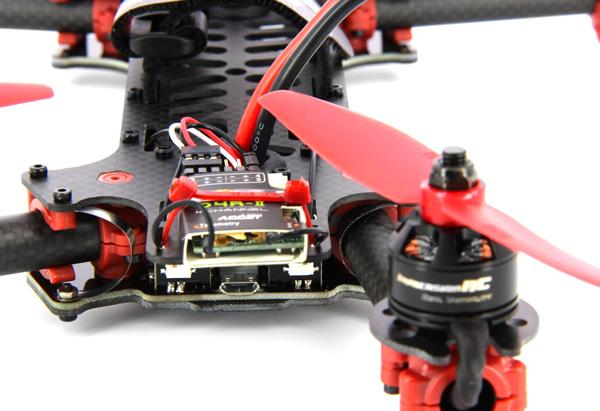 Protection des LEDs lors du repli d'un bras arrière du Vortex d'ImerssionRC