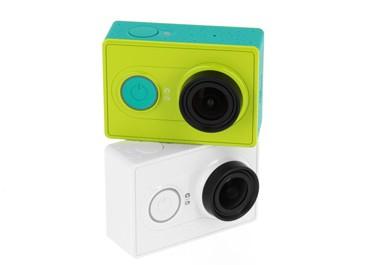 Caméras embarquées Xiaomi Yi Cam blanche ou verte