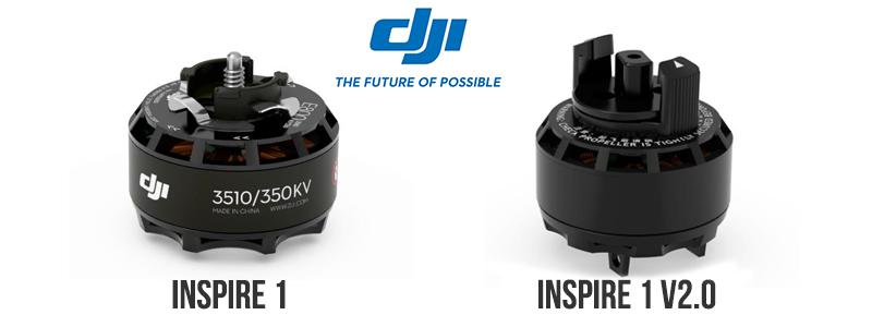 Moteurs 3510 et 3510H pour DJI Inspire 1 V2.0