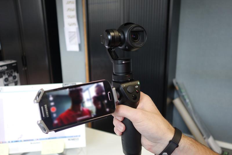 Mode selfie avec stabilisateur DJI Osmo