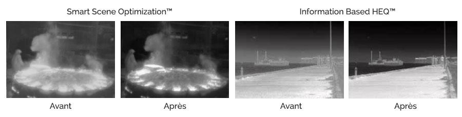 Optimisations FLIR avec détection intelligente des scènes et amélioration de la qualité