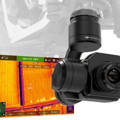 DJI Zenmuse XT FLIR, la caméra thermique embarquée