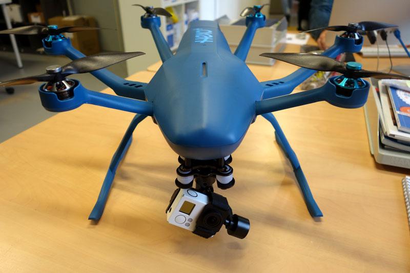 Drone Hexo+ projet kickstarter français