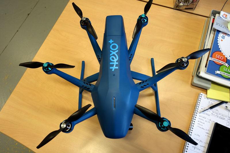 Le drone Hexo+ est arrivé chez studioSPORT