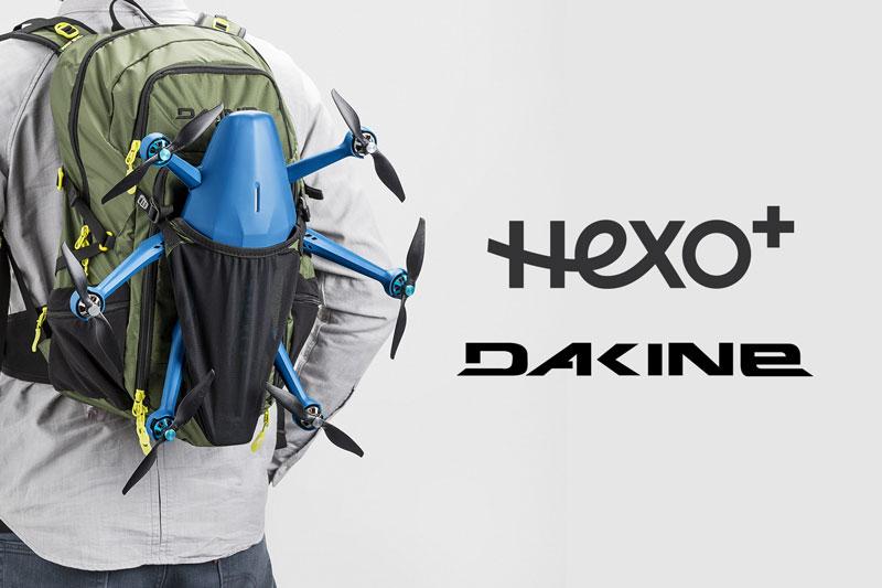 Sac à dos Dakine pour drone Hexo+