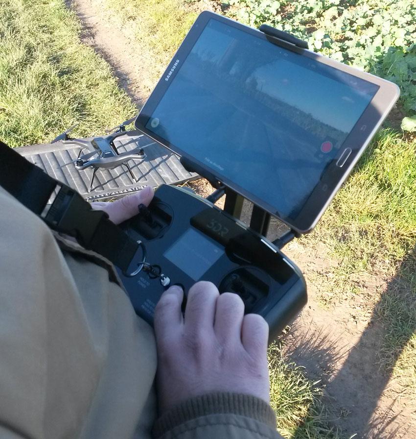 Drone 3DR Solo et son retour vidéo