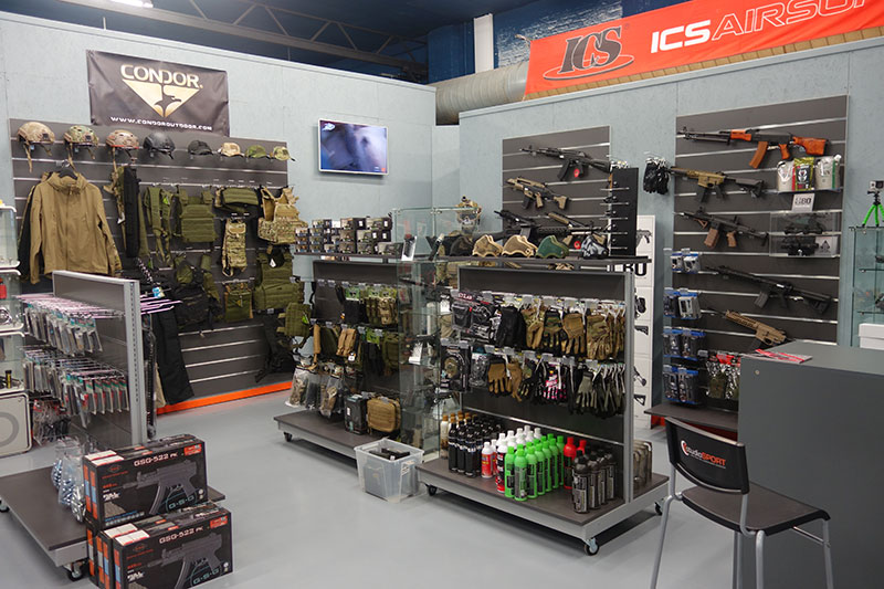Univers airsoft OPS Store Rouen Darnétal