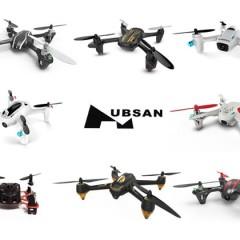 Comparatif des mini drones Hubsan