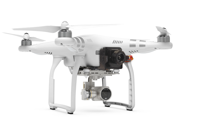 Phantom 3 avec caméra thermique FLIR VUE PRO