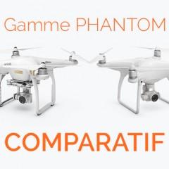 DJI Phantom 4 ou Phantom 3 le comparatif