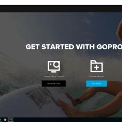 GoPro App for Desktop le nouveau logiciel GoPro