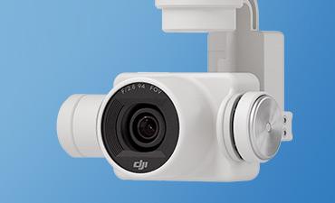 DJI Phantom 4 caméra