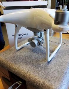 DJI Phantom 4 déballage du drone