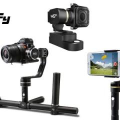 Comparatif des stabilisateurs Feiyu pour caméras