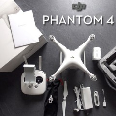 Déballage et premières impressions sur le DJI Phantom 4 !