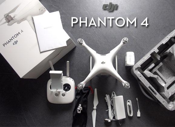 Déballage du DJI Phantom 4
