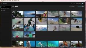 GoPro App desktop vos médias