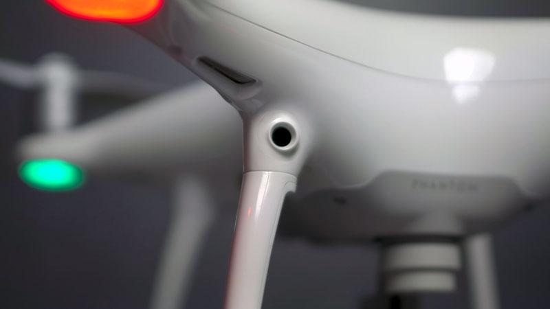Système de caméra anti-collision du DJI Phantom 4