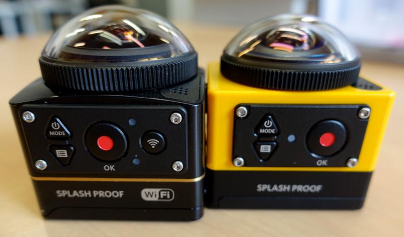 Présentation des caméras KODAK 360 SP360 et SP360 4K