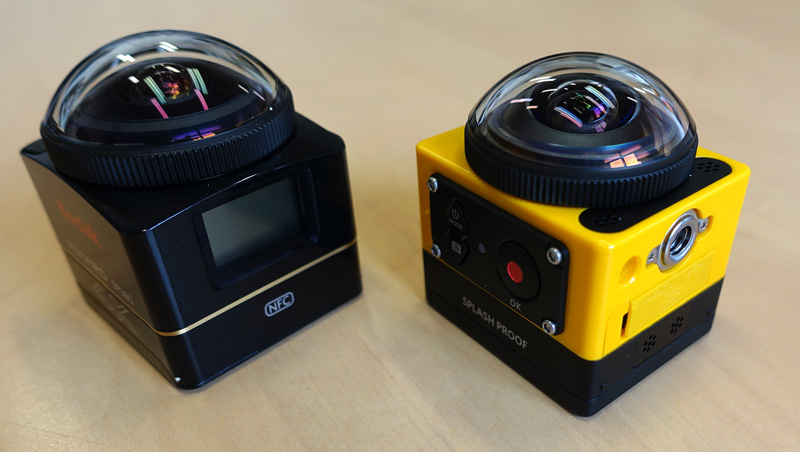 Caméras Kodak SP360 et SP360 4K