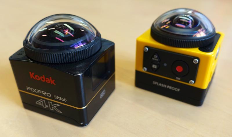 comparatif cameras kodak 360 sp360 sp3604k 5 studiosport. Black Bedroom Furniture Sets. Home Design Ideas