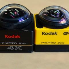 Test des caméras 360° Kodak SP360 et SP360 4K