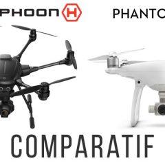 DJI Phantom 4 VS Yuneec Typhoon H, le comparatif