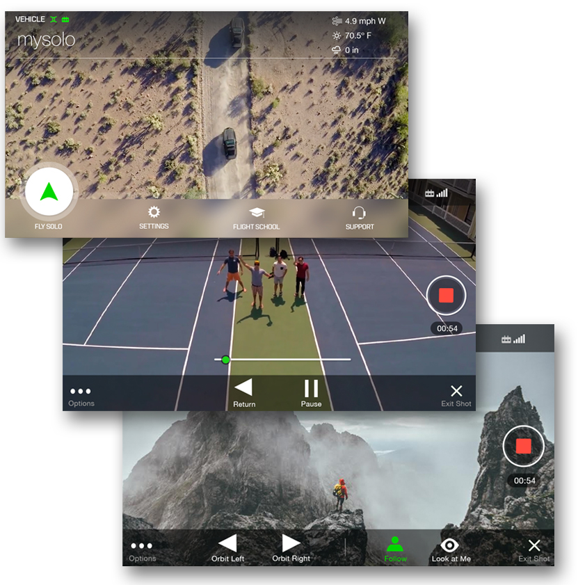 Application 3DR Solo App