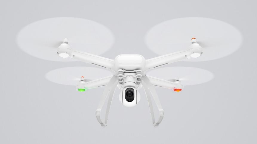 Xiaomi Mi Drone équipé de Leds