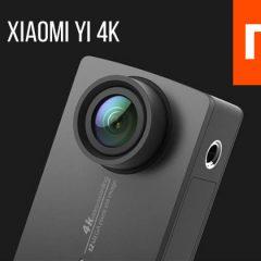 Nouvelle caméra Xiaomi Yi 4K
