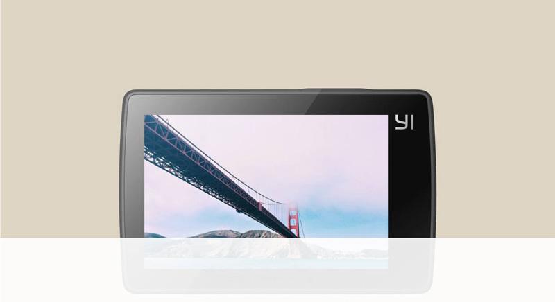 Ecran LCD tactile de la Xiaomi Yi 4k