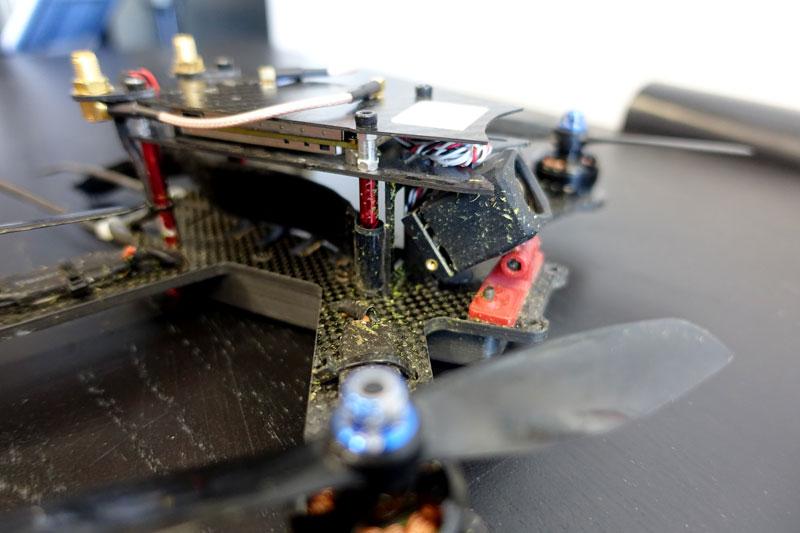 Drone racer avec Amimon Connex ProSight