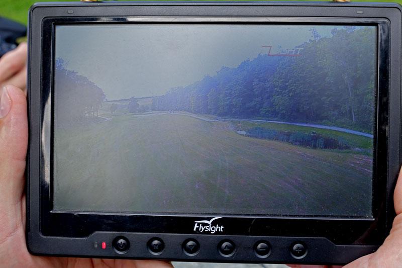 Retour vidéo HD sur un écran grâce au Amimon Connex ProSight