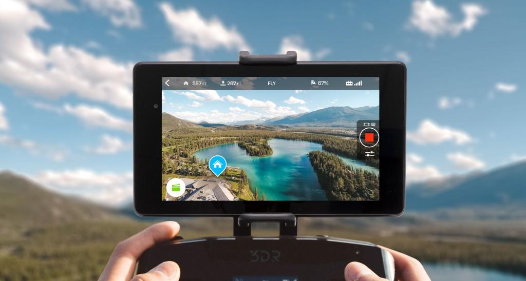 Découvrez la réalité augmentée pour améliorer l'expérience de vol avec le nouveau firmware 3DR SOLO