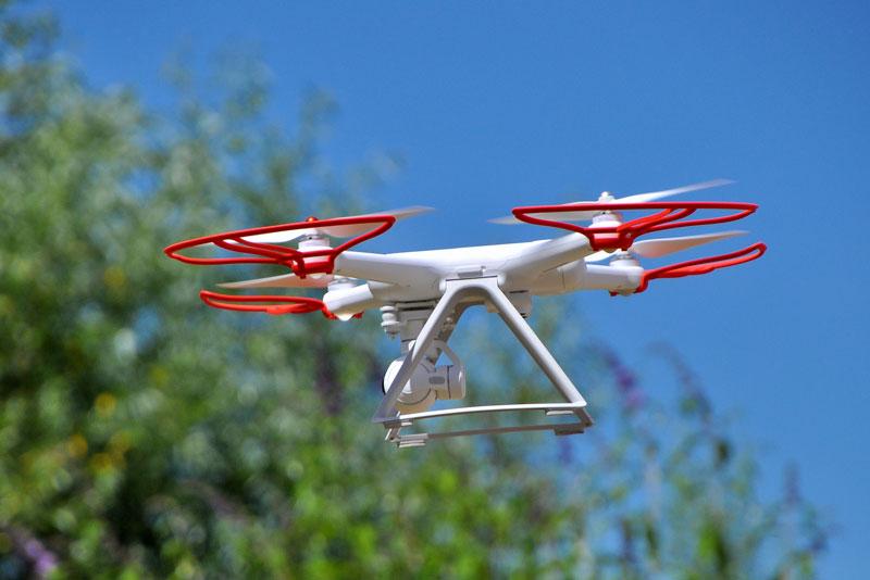 Xiaomi Mi drone en vol