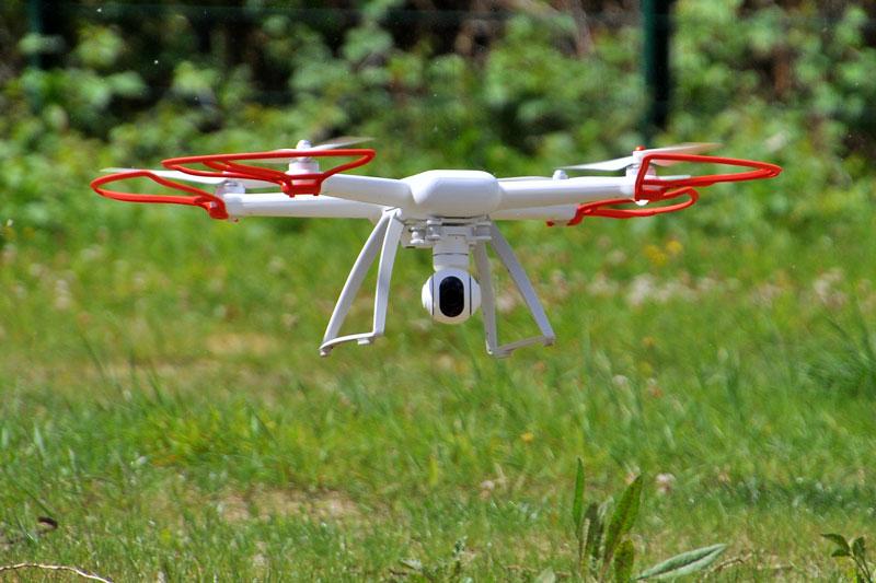 Xiaomi Mi Drone test